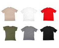 T shirtblank clothing Royalty Free Stock Photos
