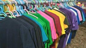 t-shirtkleur Stock Foto's