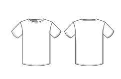 T-shirtpictogram Royalty-vrije Stock Foto