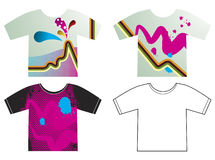 T-shirts Stock Afbeelding