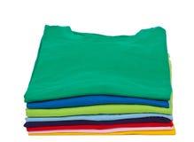 T-Shirts Stockbild