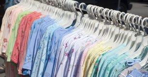 T-Shirts Stockfoto