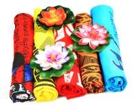 T-shirts colorés Photographie stock libre de droits