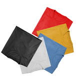 T-shirts - Colors Royalty Free Stock Photos