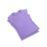 T shirts cotton violet girls style  Stock Images