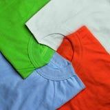 T-shirts creative background Stock Photo