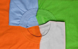 T-shirts creative background Royalty Free Stock Photography