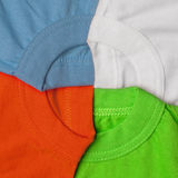 T-shirts creative background Royalty Free Stock Images