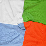 T-shirts creative background Stock Image