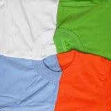 T-shirts creative background Stock Image
