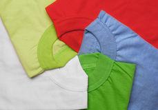 T-shirts creative background Royalty Free Stock Image