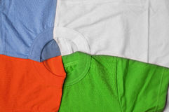 T-shirts creative background Royalty Free Stock Image