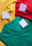 T-shirts creative background Stock Photo