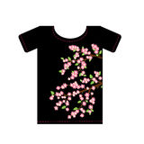 T-shirts for design Stock Photos
