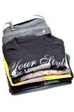 T-shirts en Jean Stock Foto
