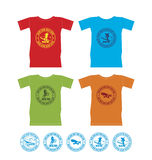 T-shirts for extreme sports 4 Stock Photo