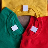 T-shirts flower Stock Images