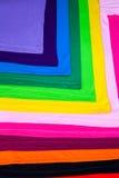 T-Shirts hergestellt von der Baumwolle und von der Faser Lizenzfreies Stockbild