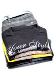 T-shirts and jean Stock Photo