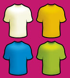 T-shirts male front Royalty Free Stock Photography
