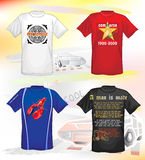 T-shirts for men Royalty Free Stock Images