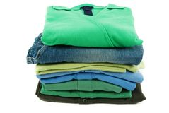 T-shirts and Pants Stock Image
