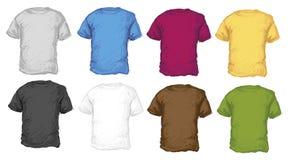 T-Shirts Set Royalty Free Stock Photography