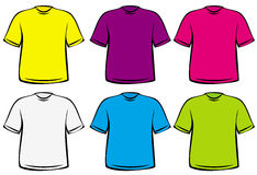 T-shirts - Vector Illustration Stock Photography
