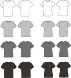 T-shirts stock photography
