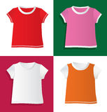 T-shirts and waistcoat Royalty Free Stock Images