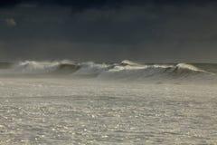 Tęsk burzowa morze fala Obraz Royalty Free