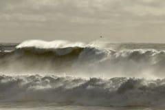Tęsk burzowa morze fala Obraz Stock