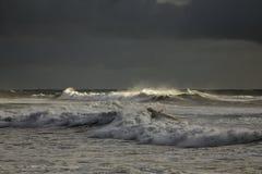 Tęsk burzowa morze fala Fotografia Stock