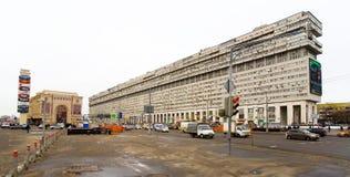 Tęsk dom na Bolshaya Tulskaya ulicie Zdjęcie Royalty Free