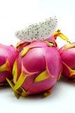 tła smoka owoc biel Zdjęcia Stock