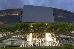 AT&T stadion i Dallas, USA arkivfoto