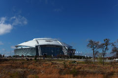 The AT&T Stadium in Arlington, the home to the Dallas Cowboys Royalty Free Stock Image