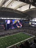 AT & T Stadium, Arlington Texas, home of the Dallas Cowboys Stock Image