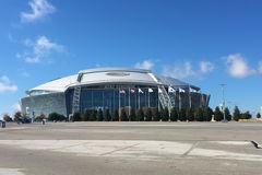 The AT&T Stadium, home to the Dallas Cowboys Royalty Free Stock Photos