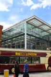 T Station de train internationale de Pancras Photographie stock libre de droits