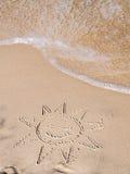 Été sur la plage Photos libres de droits