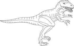 T -t-rex Royalty-vrije Stock Afbeeldingen