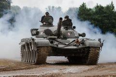 T-72 Tank. Bovington Tank Museum, UK - June 2017: A T-72 MBT at Tank Fest 2017 Royalty Free Stock Photography