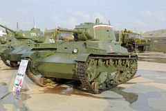 T-26 tank Stock Photos