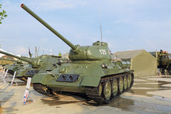 T-34 tank Stock Images