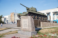 T-34 tank Royalty Free Stock Photography
