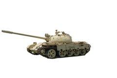 T-55  tank. On a white background Stock Photos
