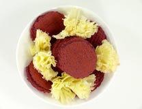 Tête de Moine cheese Royalty Free Stock Photos