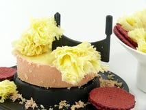 Tête de Moine cheese Stock Photography