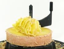 Tête de Moine cheese Stock Photo